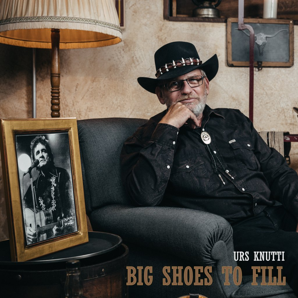 CD von Urs Knutti - BIG SHOES TO FILL